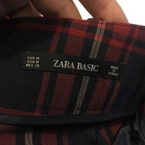 Zara Shorts - 💯Authentic Zara Basic Plaid Shorts High waisted